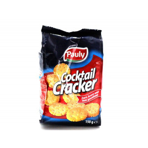 PAULY COCKTAIL CRACKER 150G X12