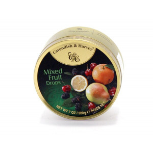 MIXED FRUIT DROPS 200 GR