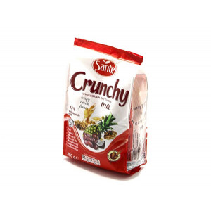 CRUNCHY WITH FRUITS 350G
