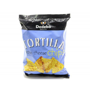 TORTILLA CHIPS NACHO CHEESE 75 G