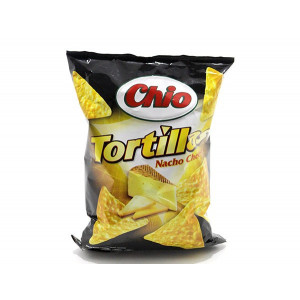 TORTILLA CHIPS NACHO CHEESE 125G