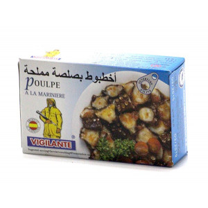 POULPE A L'HUILE D'OLIVE 115G