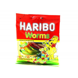 HARIBO WORMS 80 G