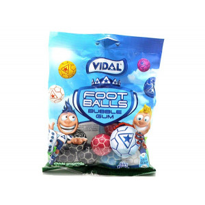 GOMMES VIDAL FOOTBALL BUBBLE GUM 100 GR