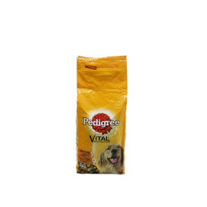 PEDIGREE DRY ADULT BEEF - VEGETABLES 3KG