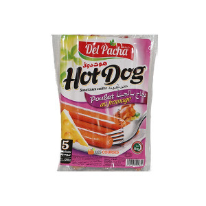 HOT DOG POULET FROMAGE 250G