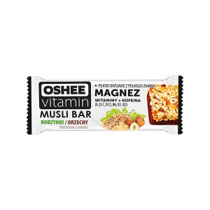 VITAMIN MUSLI BAR RAISIN / NUTD 40gr